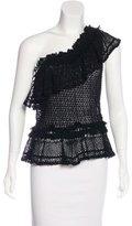 Jonathan Simkhai One-Shoulder Knit Top w/ Tags