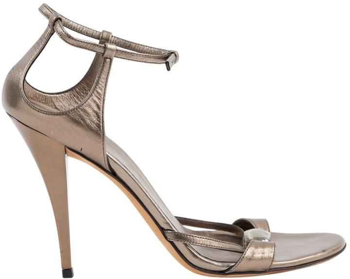 2ce873e6d Gucci Silver Heel - ShopStyle