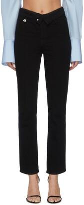 Alexander Wang x Lane Crawford flip waist jeans