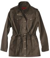 Coffee Shop Women's Plus-Size Outerwear 3/4-Sleeve Jacket - Green