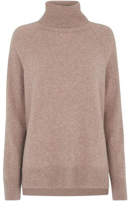Whistles Cashmere Roll Neck Knit