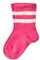 Mini Rodini Stripe Sock Pink