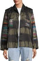 Libertine Friday Nights Tie-Dye Army Jacket