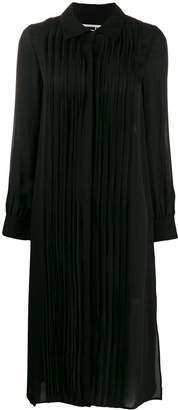 McQ pleated shirt dress