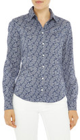 Gant Broadcloth Stretch Paisley Shirt