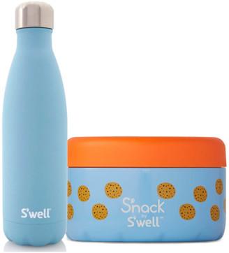 Swell S'well Aquamarine Lunch Box Set (Worth 52.00)