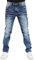 Earl Jean Men's Camden Streaky Blast Slim Stretch Denim Jeans