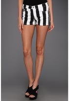 Type Z Kani Stripe Shorts (White/Black) - Apparel