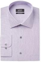 Alfani Men's Big & Tall Classic-Fit Performance Mini-Stripe Dress Shirt, Only at Macy's