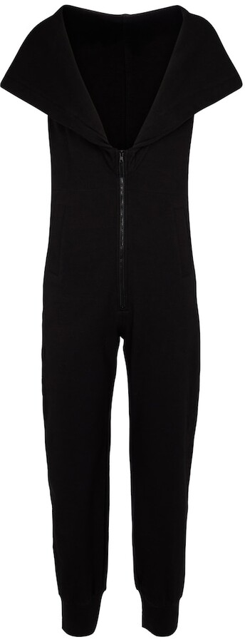 Thumbnail for your product : Norma Kamali Stretch-cotton jersey jumpsuit