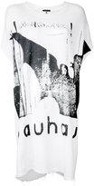 R 13 graphic print T-shirt - women - Cotton - S