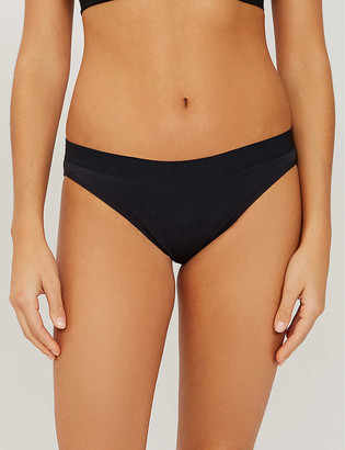 THINX Mid-rise organic cotton bikini briefs