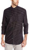 Calvin Klein Jeans Men's Horizontal Space Dye Shirt