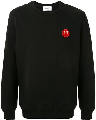 Ports V Long Sleeve Logo Patch Sweater