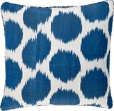 Madeline Weinrib Mu Ikat Silk-Cotton Pillow-BLUE