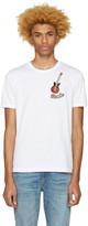 Dolce & Gabbana White 'Rumba' T-Shirt