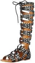 N.Y.L.A. Women's Anpunk Gladiator Sandal,9 M US