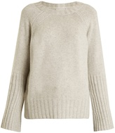 Nili Lotan Elise ribbed-cuff cashmere-knit sweater