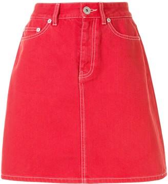 Bapy By *A Bathing Ape® High-Waist Mini Skirt