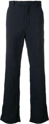 Marni crinkled trousers