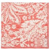 D'Ascoli Set Of Four Garden Floral-print Cotton Napkins - Pink Multi
