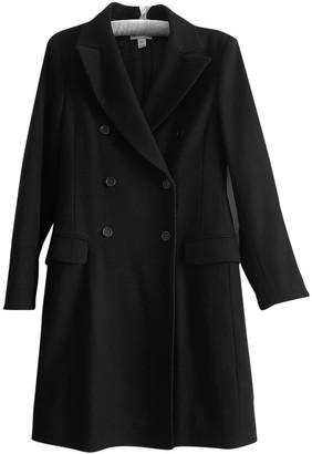 Karl Lagerfeld Paris Pour H&m Black Wool Coat for Women