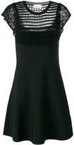 RED Valentino knit panel dress - women - Cotton/Polyamide/Spandex/Elastane/Viscose - XS