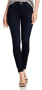 AG Jeans Farrah Skinny Ankle Jeans in Blue Above