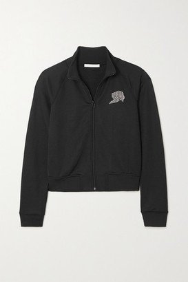 Alexander Wang French Terry Track Jacket - Black