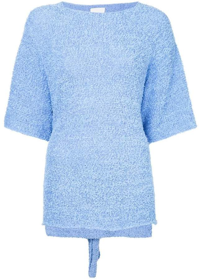Dion Lee paper towel T-shirt