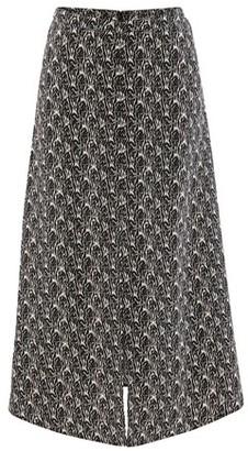 Vanessa Bruno Long printed Noela skirt