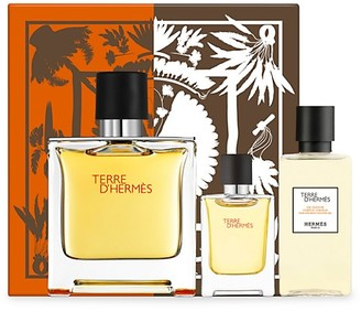 Hermes Terre d'Hermes Pure Perfume 3-Piece Gift Set