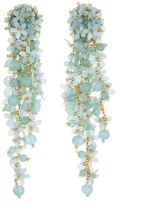 Oscar de la Renta Cascade Earrings