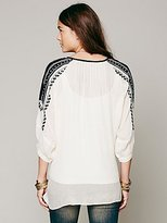 Free People Love Lost Embroidered Tunic