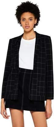 Find. find. Women's Check Suit Jacket