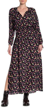 AllSaints Kristen Floral Printed Maxi Dress