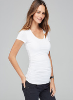 Isabella Oliver The Maternity Cap Scoop Top