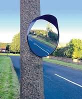 Streetwize 40cm Convex Mirror
