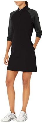 adidas Golf Dress (Black) Women's Dress