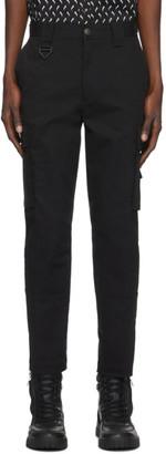 Diesel Black P-Freddy Cargo Pants