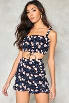 Nasty Gal nastygal Use Your Illusion Floral Bra Top