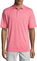 Callaway Heathered Polo Shirt, Red