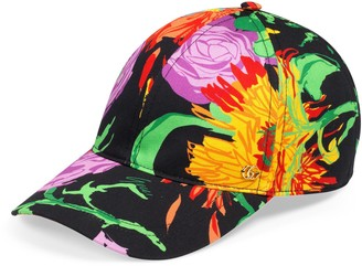 Gucci Ken Scott print canvas baseball hat