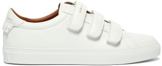 Givenchy Urban Street Logo-print Leather Trainers - Womens - White