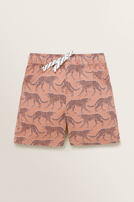 Seed Heritage Leopard Shorts