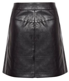 Dorothy Perkins Womens **Only Black Zip Pu Skirt, Black