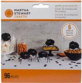 Martha Stewart M4820414 Spider Pom-pom Kit Makes 6-spooky Night