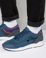 Le Coq Sportif R Xt Ripstop Trainers In Blue 1620397