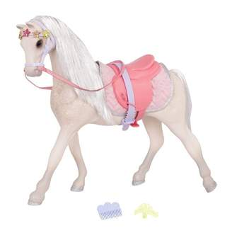 "Glitter Girls 14"" Horse w/ Tiara, Starlight"