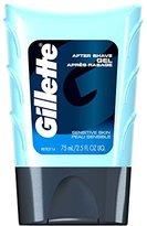 Gillette Series Sensitive Skin After Shave Gel 2.5 Fl Oz (Pack of 6)